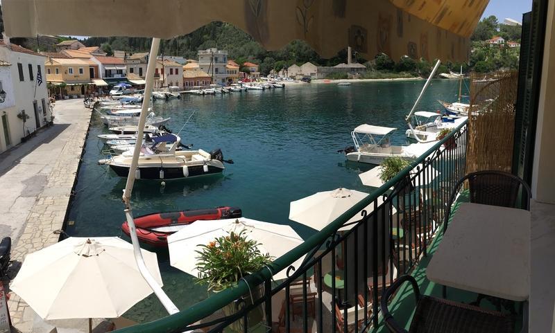 Loggos sea view apartment (Electra)