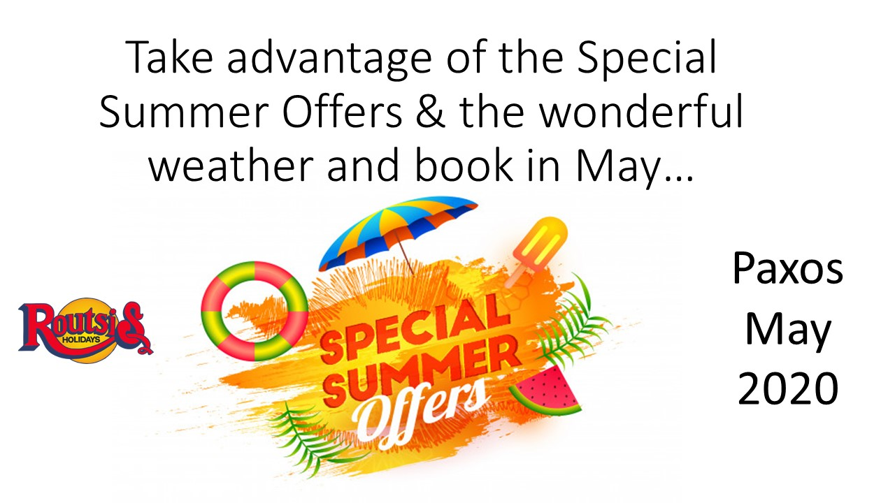 Special Offers MAY 2020